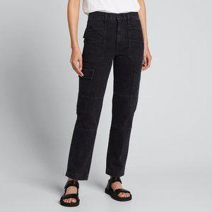NWT SLVRLAKE Savior High-Rise Utility Jeans